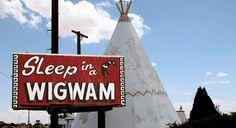 Wigwam Motel in Holbrook, Arizona. http://www.route66guide.com/arizona-route66.html