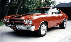 1970 #Chevy #Chevelle SS...Totally Sick!! I want!!