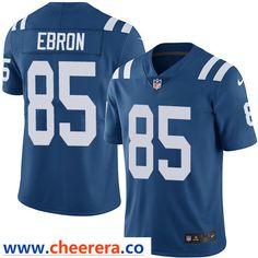Nike Indianapolis Colts  85 Eric Ebron Royal Blue Team Color Men s Stitched  NFL Vapor Untouchable 8741afaef