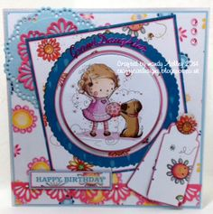 Using papers from Crafter's Companion Inspiration magazine  CD