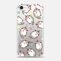 Casetify iPhone 7 Snap Case - Caticorn Cats by Mint Corner