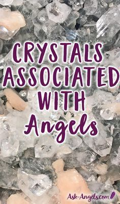 Top 13 Angelic Crystals You Need In Your Life if you want to connect with angels! Plus- Discover the magical link between angels and crystals now. Chakra Crystals, Crystals Minerals, Crystals And Gemstones, Stones And Crystals, Gem Stones, Crystal Healing Chart, Healing Crystals, Fertility Crystals, Healing Gemstones