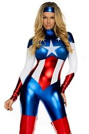 Star Spangled Sexy Hero Costume