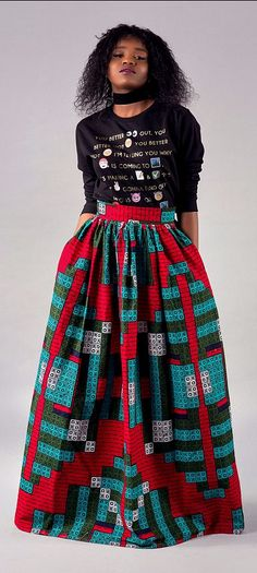 "Beautiful high waist long gathered Maxi skirt.    - Skirt has two side pockets and 2.5"" waist band. ankara maxi skirt, gathered skirt,long skirt, skirt, retro skirt, maxi skirt.   Ankara | Dutch wax | Kente | Kitenge | Dashiki | African print bomber jacket | African fashion | Ankara bomber jacket | African prints | Nigerian style | Ghanaian fashion | Senegal fashion | Kenya fashion | Nigerian fashion | Ankara crop top (affiliate)"