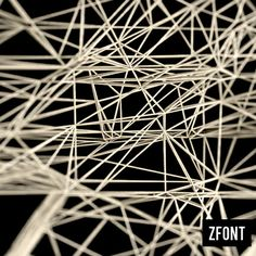 ZFONT by Riccardo Mucelli, via Behance