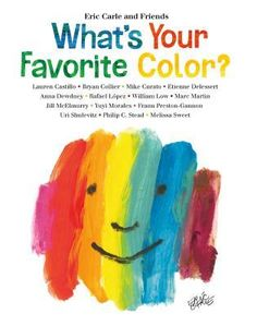 Today, an exhibit opens at The Eric Carle Museum of Picture Book Art, featuring work from the upcoming book What's Your Favorite Color?, by Eric Carle and Friends (I'm one of the friend… New Books, Good Books, Your Favorite, Favorite Color, Marc Martin, Green Ice Cream, Mint Green, Yellow, Melissa Sweet