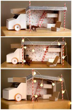 shoe box trailer