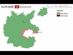 Die Geschichte des deutschen Staates seit 1867 - staatliche und territoriale Entwicklung - YouTube