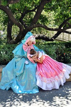 Fairy Godmother and Cinderella Mini Me Haylie Bonser
