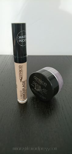 Catrice Cosmetics Prime and Fine Review and Swatch