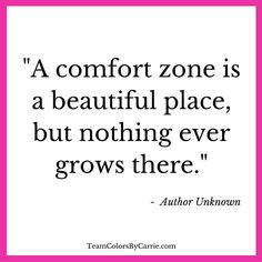 Are you spending too much time in your comfort zone?