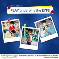 Eyfs Curriculum, Nursery School, Indore, Kindergarten Teachers, Pre School, Innovation, Play, Quotes, Quotations