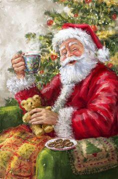 belles images anim e noel new - Page 24 Old Fashioned Christmas, Christmas Scenes, Christmas Past, Christmas Pictures, Christmas Greetings, Winter Christmas, Father Christmas, Christmas Crafts, Christmas Stuff