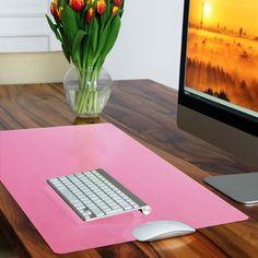 Sous-main casa pura® rose sans plastifiants / PVC | parfait pour les enfants ou le bureau | taille 50x65cm: Amazon.fr: Fournitures de bureau