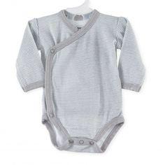 Body bebé gris #body #bebe #rayas #gris #kinousses