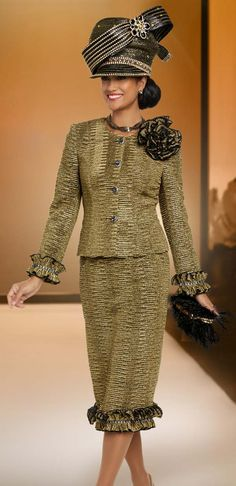 2021 Donna vinci, Knits, Donna Vinci Suits, Hats for Church Church Dresses For Women, Women Church Suits, Suits For Women, Ladies Dresses, First Lady Church Suits, Church Suits And Hats, Long Jacket Dresses, Dresses With Sleeves, Elegant Church Suits