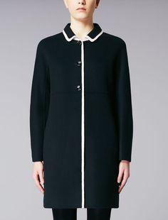 Max Mara OVIDIO black: Wool coat