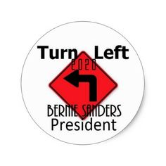 Bernie SANDERS 2020 Classic Round Sticker - unusual diy cyo customize special gift idea