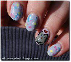Red Rouge Nail Art: Claire's Jazz