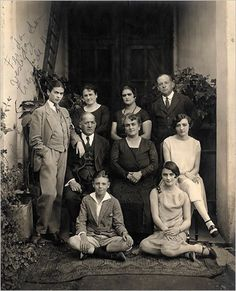 Frida Kahlo is about seventeen in these family photographs taken by her father, Guillermo Kahlo, circa 1924. Each member of the family adopts a pose reflective of their station, but it is Frida who holds our attention—she stares directly at the camera daring us to look away. There is a game being played. Frida is dressed as a boy in shirt, tie and three-piece suit, she is playing a role, flouting convention. Frida is also challenging the viewer's notion of gender. Being used to seeing ...