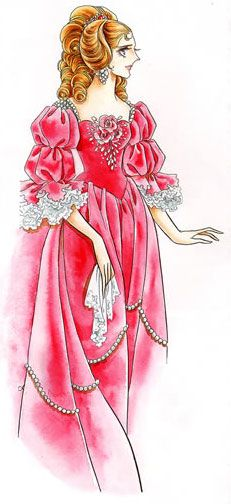 Marie-Antoinette - rose of Versailles