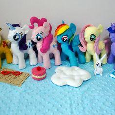 Mlp my little pony felt patterns sale - pdf ebook patterns & tutorials via email