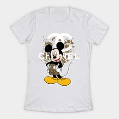 Chanel Mickey Mouse T Shirt Women Mickey Mouse T Shirt, Graphic Tees, Chanel, Mens Tops, Shirts, Women, Women's, Shirt, Dress Shirts
