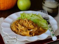 Diet Pork & Pumpkin | Once a Month Meals | OAMC | Freezer Meals | Freezer Cooking | Diet Menu | Slow Cooker