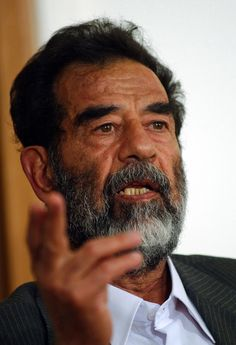 October 19, 2005 - The first trial of Saddam Hussein began for the Iraqi Special Tribunal. Here, Hussein was tried for crimes against humanity. A second and separate trial started on August 21, 2006 to try Hussein for genocied against te Kurds in northern Iraq. On November 5, Hussein was sentenced to death by hanging. The execution was carried out on December 30, 2006. #history #hussein #Iraq