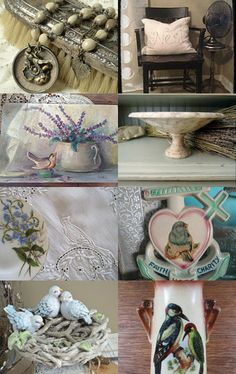 On the Wings of Spring....Bird Lovers  TVAT by Kristin on Etsy--Pinned with TreasuryPin.com