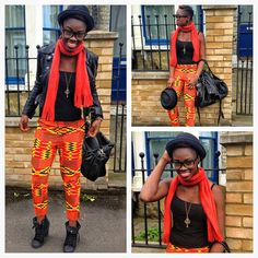 Found this while browsing around Google. Every single piece of this outfit is giving me life!! She better work :) Tag this beauty if you know her!  #africanfashion #africanprint #blackfashion #kente #brooklynfashion #nyhipster #brooklynhipster #africanpride #winterfashion #fallfashion