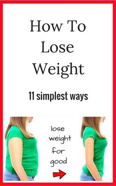11 perfect strategies to lose weight for good