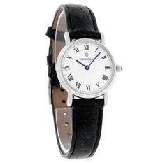 Concord Bennington Ladies Black Leather Band Swiss Quartz Watch 0310665