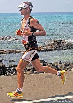 2x Ironman World Champion Craig Alexander on his way to winning at Kona. #Crowie #triathlon #Ironman