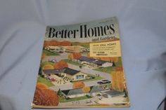 Vintage Better Homes and Gardens September 1959 by Fleaosophy, $18.00