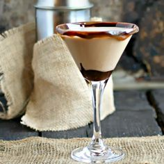 Hungry Couple: Chocolate and Peanut Butter Martini