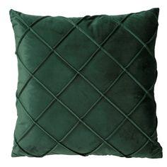 Prydnadskudde Judith 45x45 cm Grön Polyester - Prydnadskuddar & fodral - Rusta.com