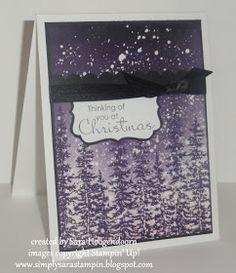 Simply Sara Stampin': Christmas Wonderland