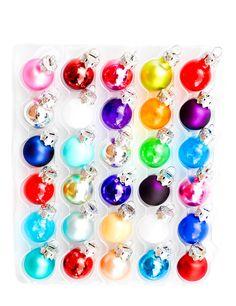 mini ornaments. #splendidholiday