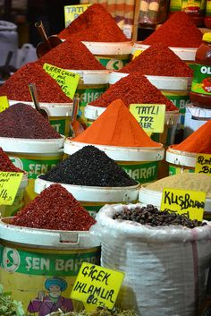 Spice Market.... Want to go to one someday, can you imagine the aroma??