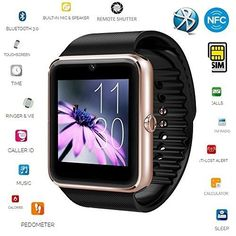 Wearable Devices Adroit Bluetooth Smart Watch Gt08 Smartwatch Support Tf Sim Card Touch Screen Gt 08 Wristwatch Health Monitor For Ios For Android Phone