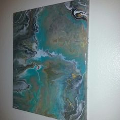 """Fluid Painting - """"From Above"""" by Tanya Lauderdale June 2014"""