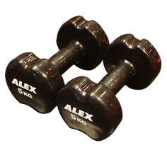 Alex AXDM07 Vinyl Dambıl 5kg