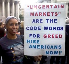 This was during an Occupy Wall Street rally with the unions in the fall of 2011.