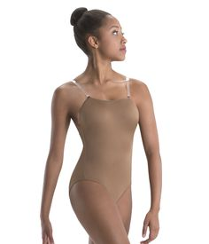 Convertible Strap Camisole Leotard - Next Day Shipping - Motionwear