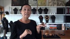 Linda van Niekerk  speaks about her jewelry design practice. Very cool woman and remarkable jewelry.