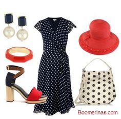 polka dots for baby boomers