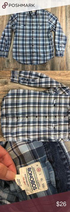 Bonobos Plaid Shirt M Great used condition. No damage! Bonobos Shirts Casual Button Down Shirts