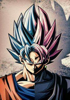 SSB Goku&SSR Goku Black