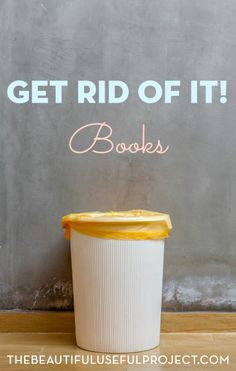 Are books cluttering your home? We are decluttering books today, and finding new homes for the tomes we love. Join us, and clear off some shelf space.